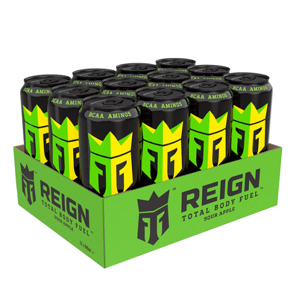 Reign Energy - Sour Apple 50cl x 12st