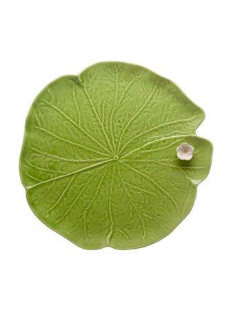 Leaves Leaf with Flower Grønn 32 cm