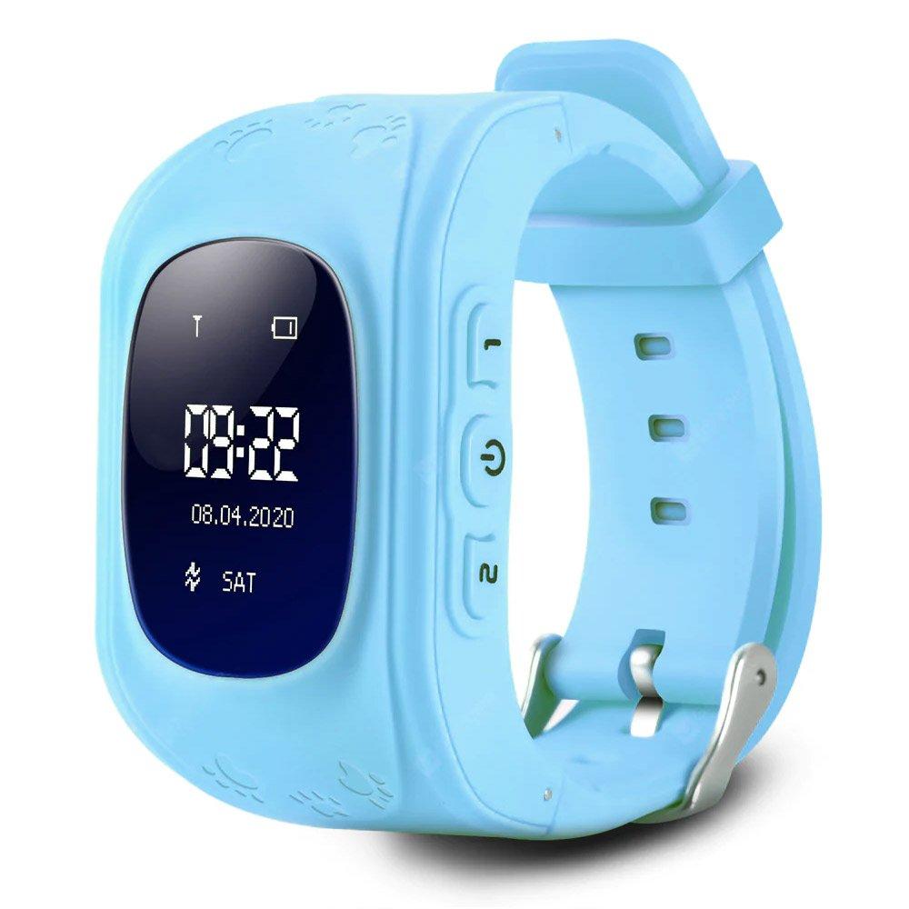 GPS Child Tracker Watch - Blue (04090.BLUE)