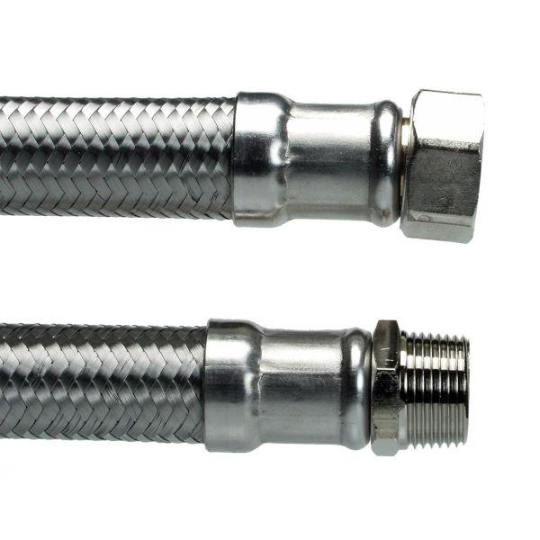Neoperl 8192758 Liitäntäletku suora, sisä-/ulkokierre G20 400 mm