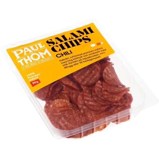 Salamichips Chili - 45% rabatt