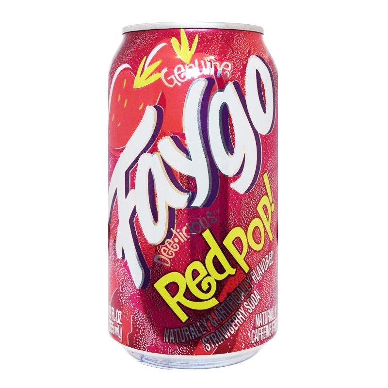 """Läsk """"Red Pop"""" - 23% rabatt"""