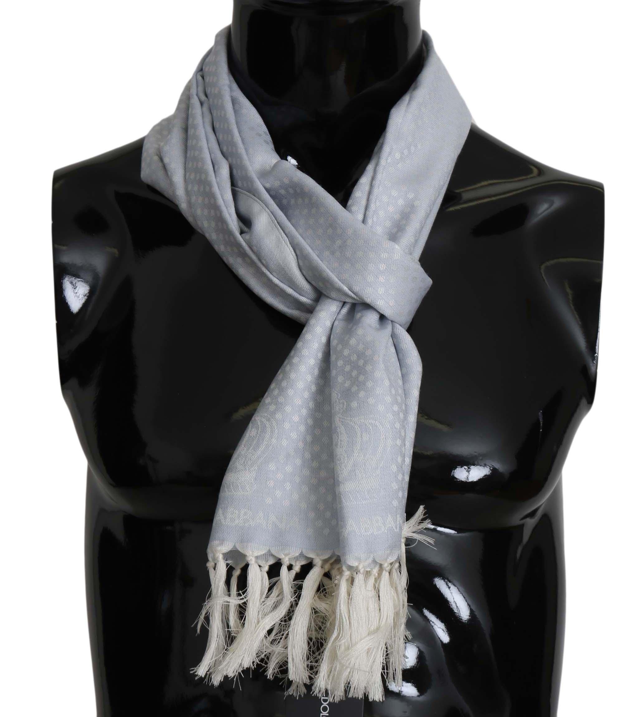 Dolce & Gabbana Men's Scarf Blue MS5146