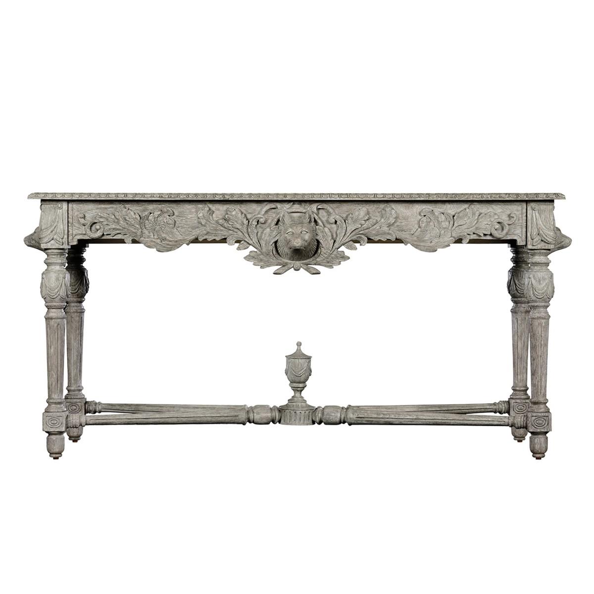 William Yeoward | Godwyn Console Table Greyed Oak