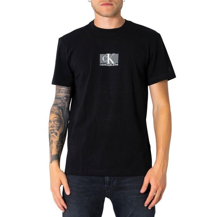 Calvin Klein Jeans Men's T-Shirt Various Colours 304935 - black XS