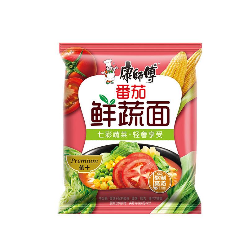 Kang Shi Fu Instant Noodle Tomato & Vegetable Flavor 101g