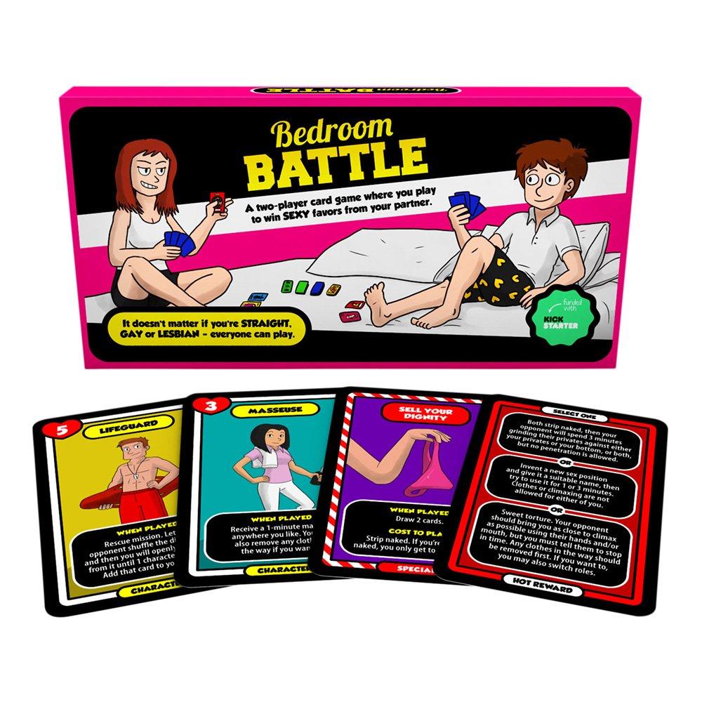 Bedroom Battle Sexspel - Spelet