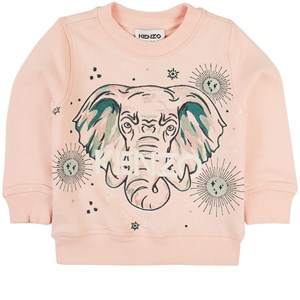 Kenzo Elephant Sweatshirt Rosa 2 år
