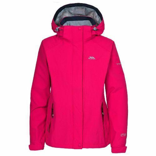 Trespass Women's Waterproof Jacket Various Colours Florissant - Cerise S