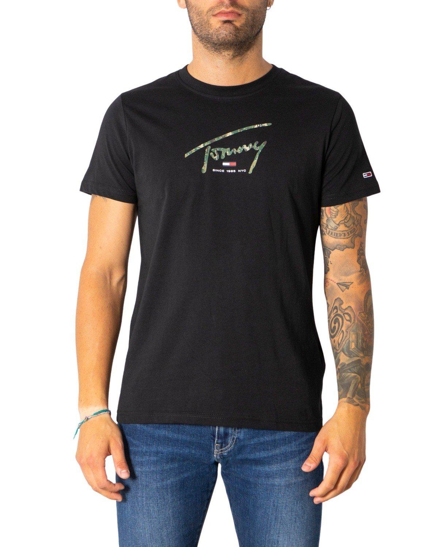 Tommy Hilfiger Jeans Men's T-Shirt Various Colours 308074 - black S