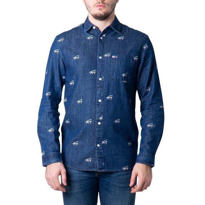 Tommy Hilfiger Men's Shirt Blue 184425 - blue S