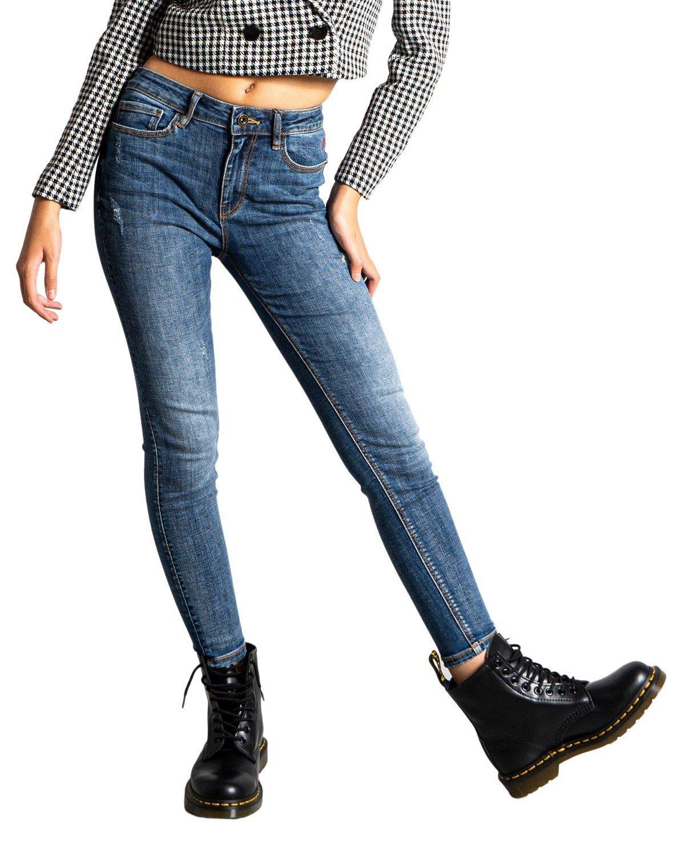 Desigual Women's Jeans Various Colours 319988 - blue 42