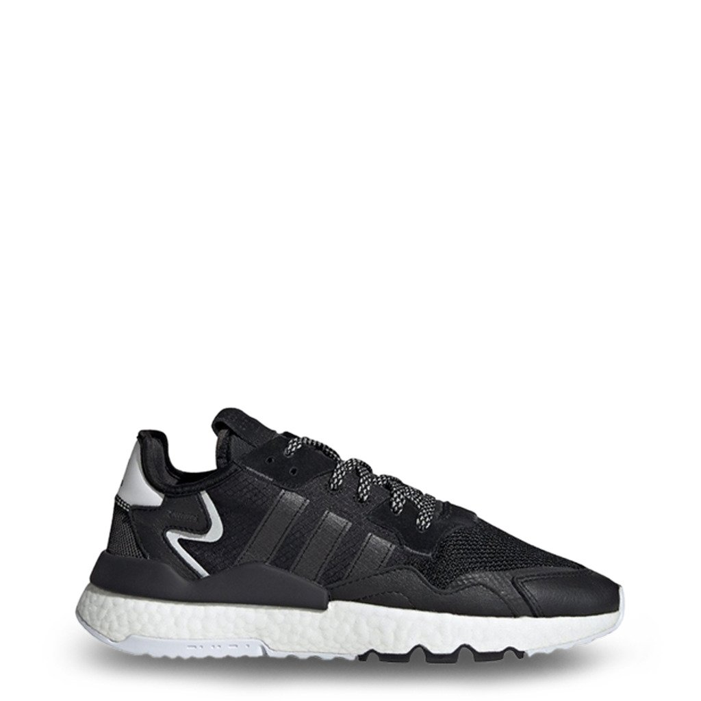 Adidas Men's Nite Jogger Trainers Various Colours EE6254 - black 7.5 UK