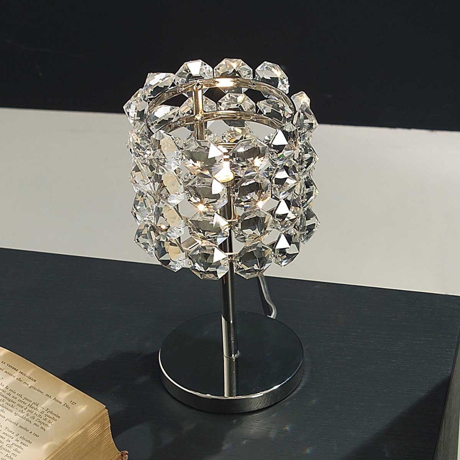 Krystall bordlampe BACCARAT