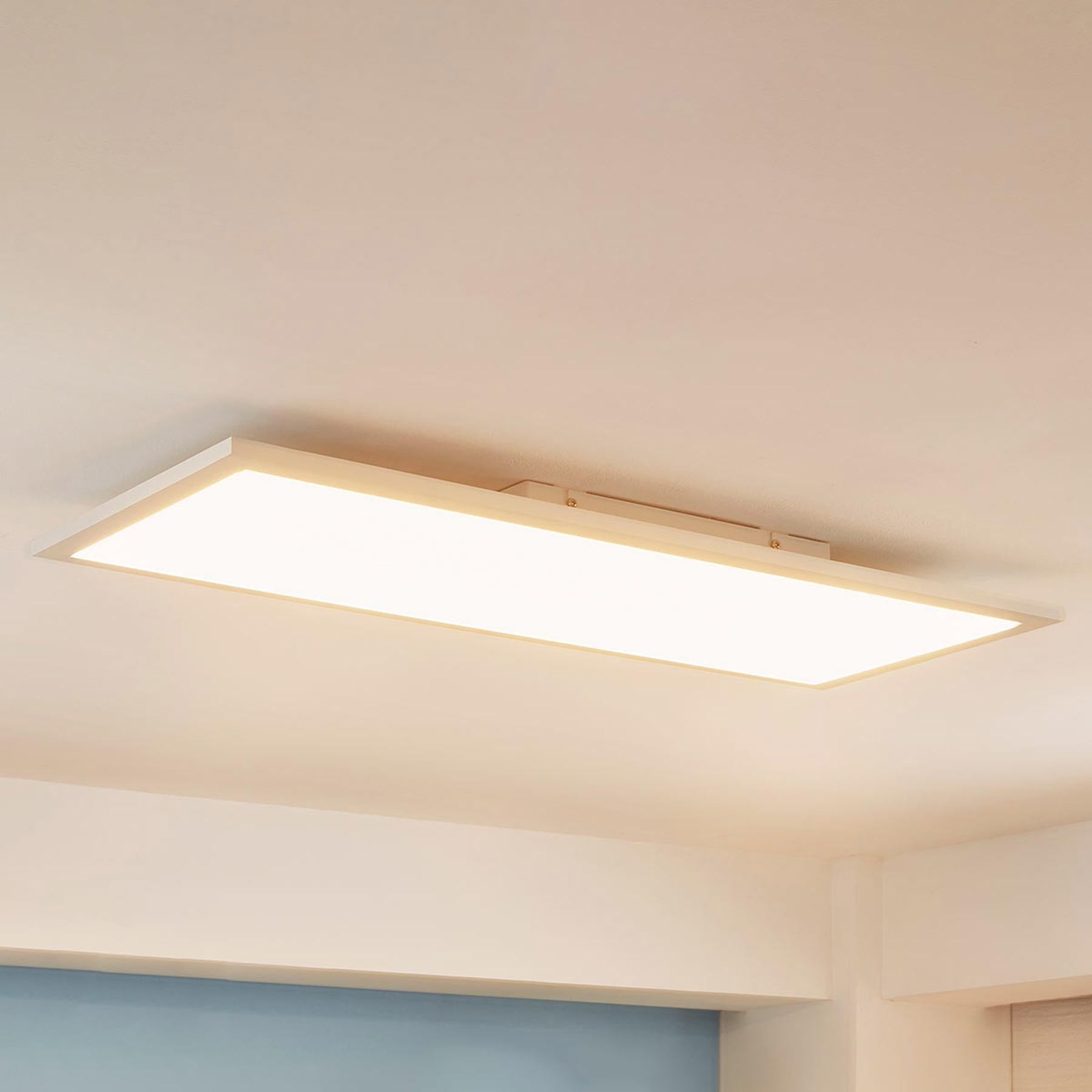 Arcchio Enja -LED-paneeli, 79,5 cm x 29,5 cm