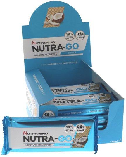 Proteinwafers Coconut 12-pack - 60% rabatt