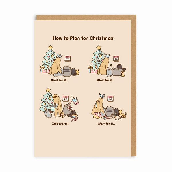 How To Plan For Christmas Card