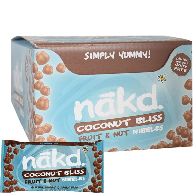 Nibbles Coconut Bliss Fruit & Nut 18-pack - 60% rabatt