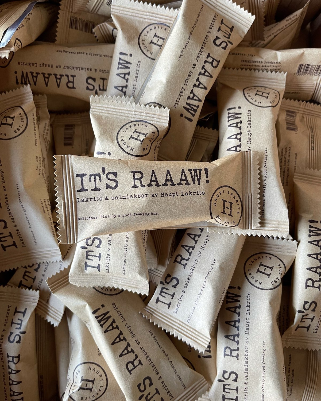Haupt Lakrits - IT'S RAAAW! 40g