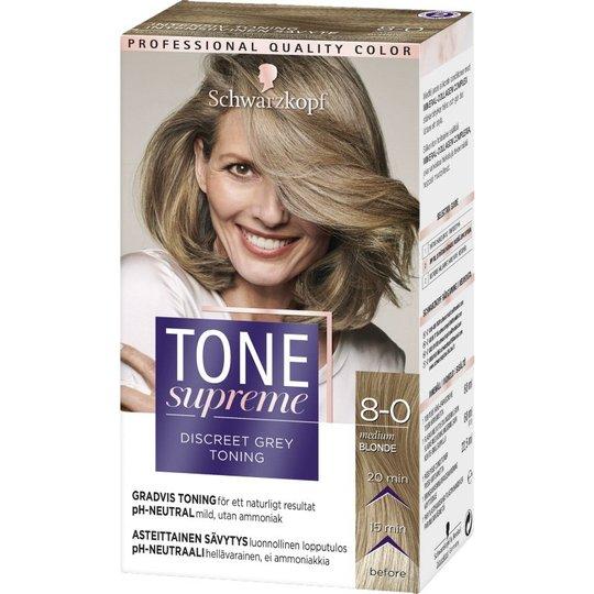 Toningsfärg 8-0 Medium Blond - 61% rabatt