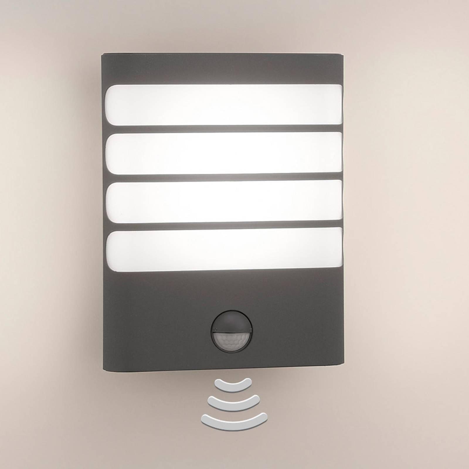 Philips Raccoon LED-seinävalo antrasiitti