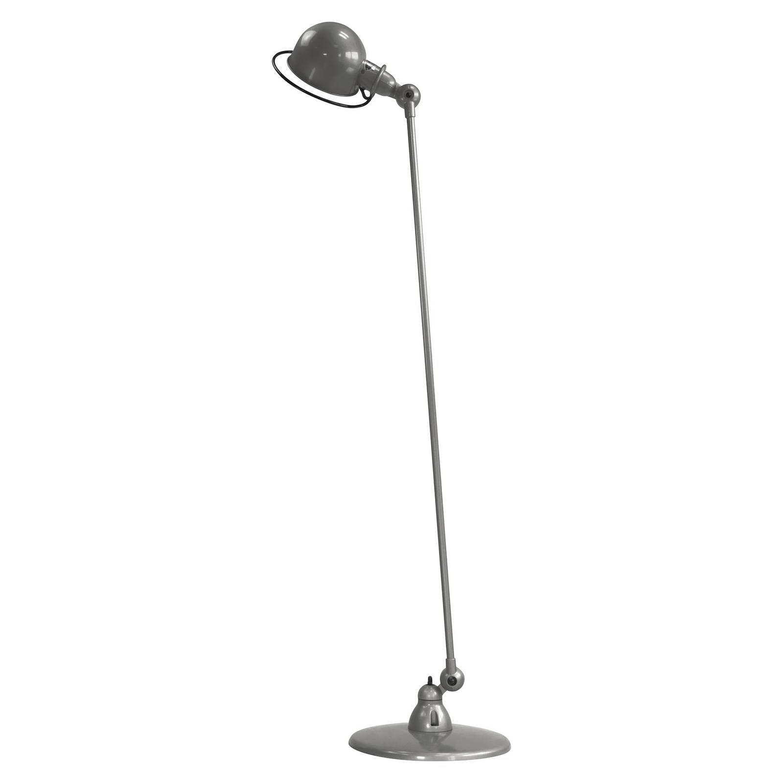 Jieldé Loft D1200 gulvlampe, justerbar, grå