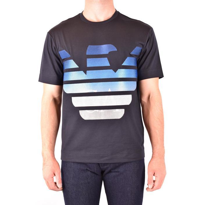 Emporio Armani Men's T-Shirt Black 181987 - black L