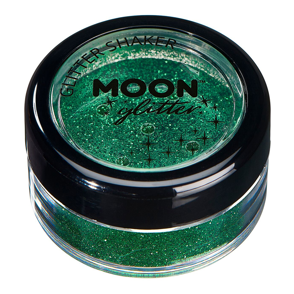 Moon Creations Fine Glitter Shaker - Grön
