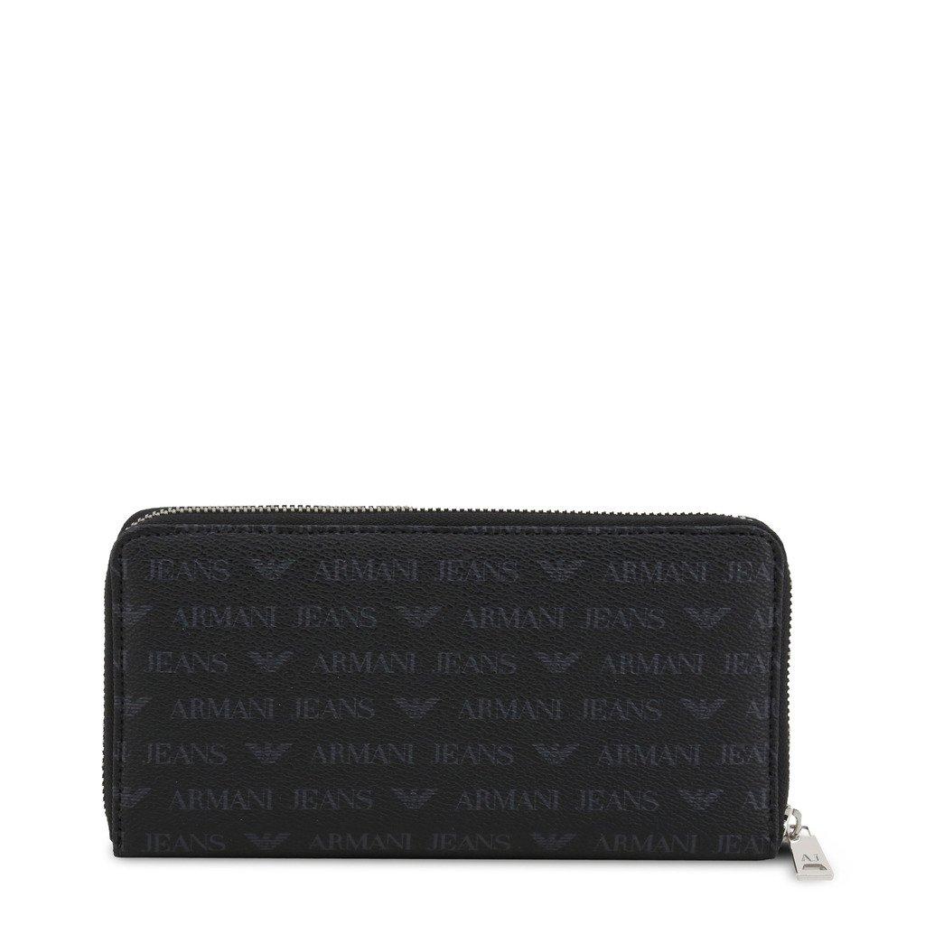 Armani Jeans Unisex Wallet Black 285858 - black NOSIZE
