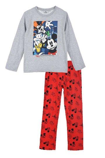 Disney Mikke Mus Pysjamas, Light Grey, 3 År