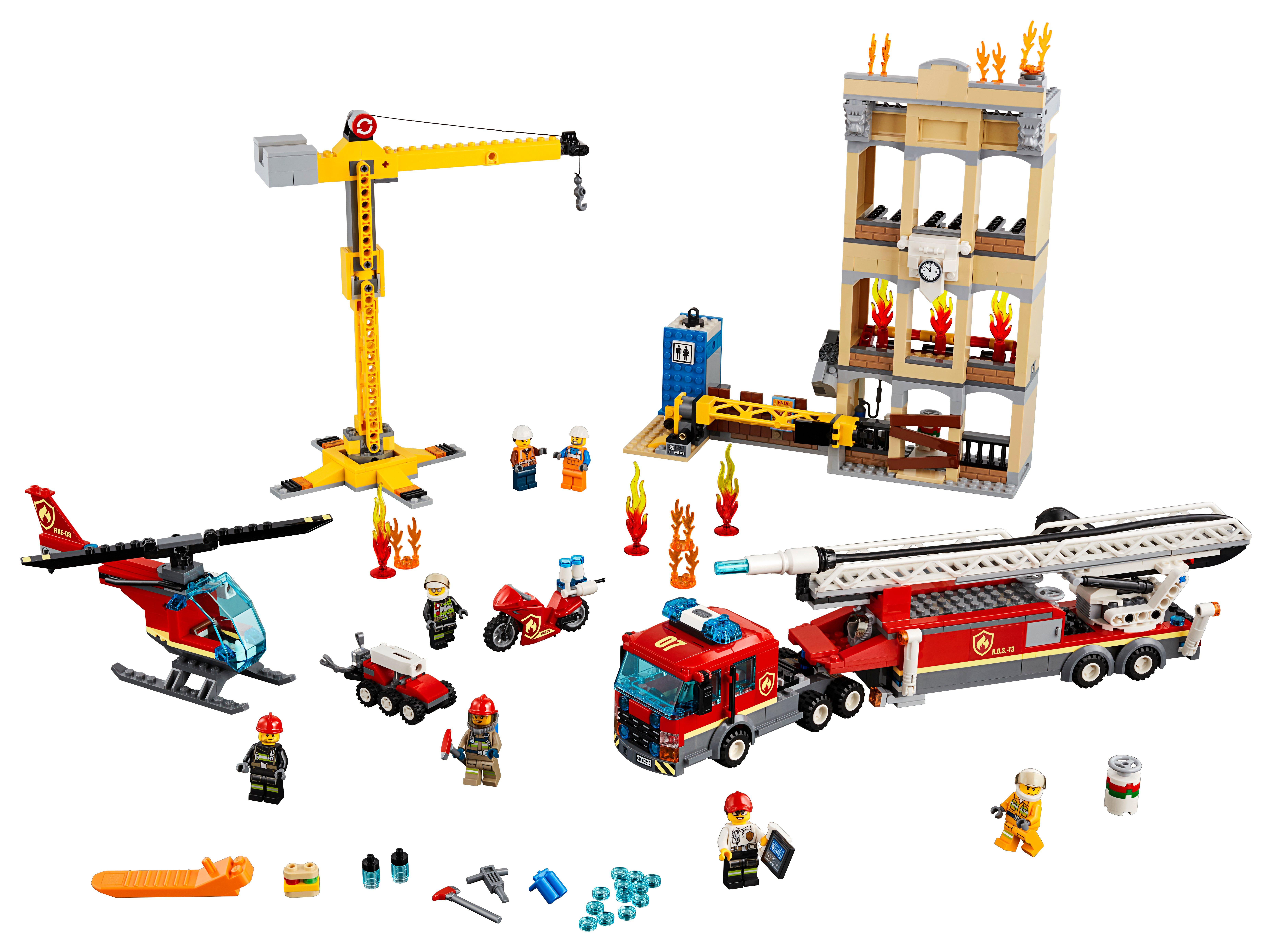LEGO City - Downtown Fire Brigade (60216)