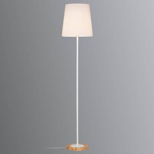 Paulmann Stellan -lattiavalo kangasvarjostimella