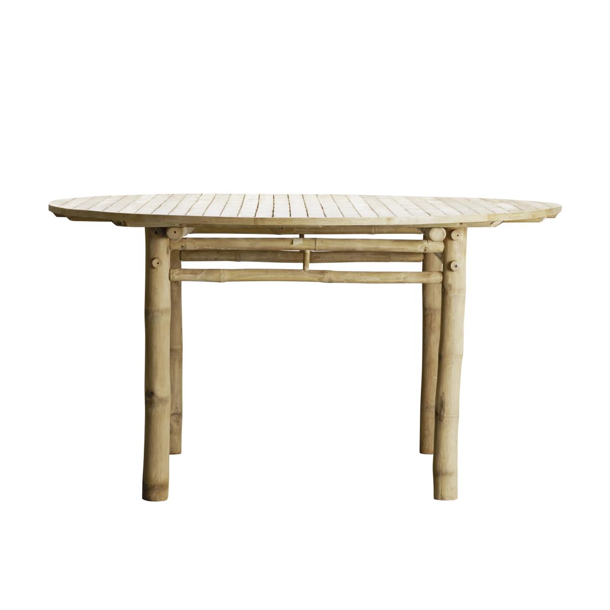 Tine K Runt Matbord bambu 140 cm