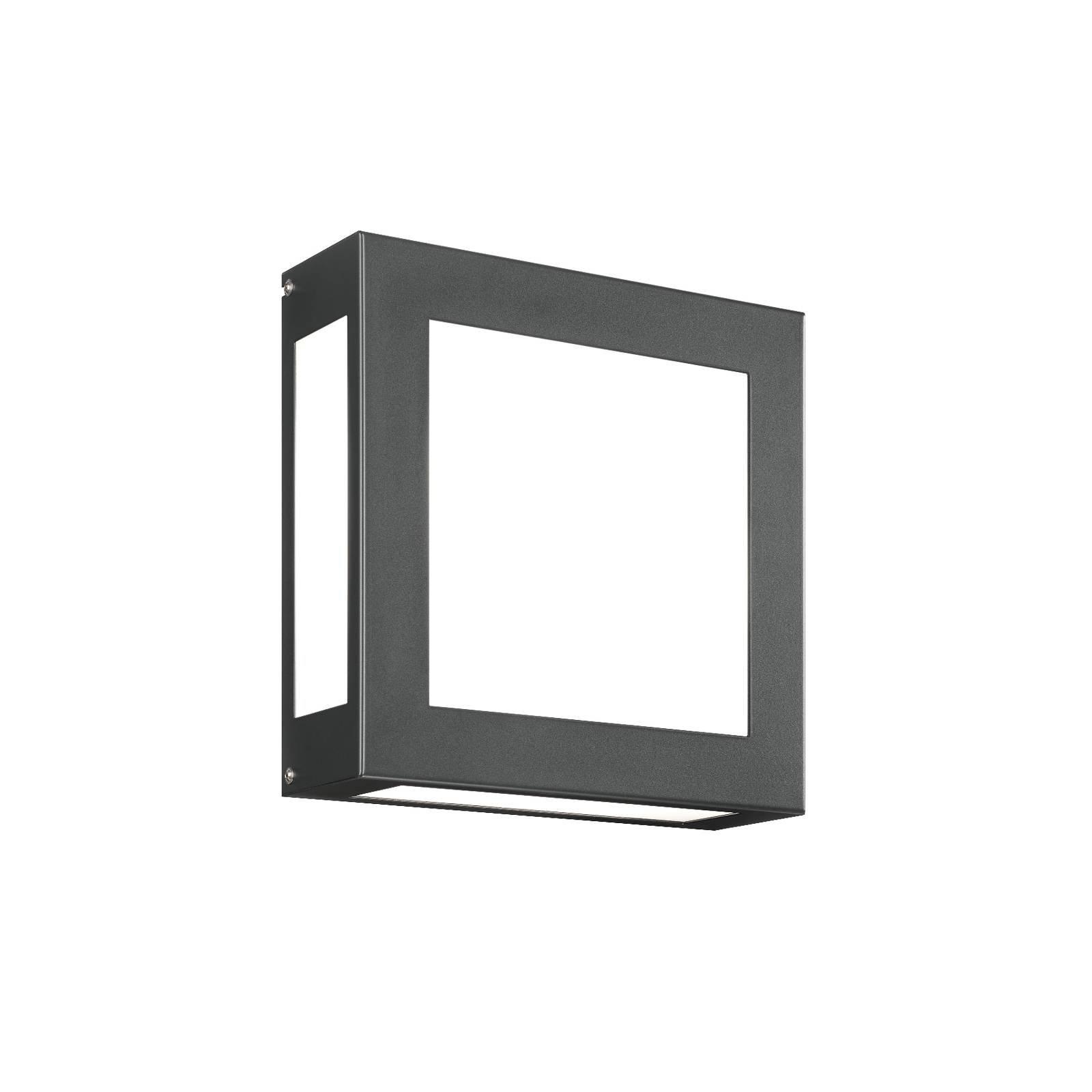 Utendørs LED-vegglampe Aqua Legendo, antrasitt