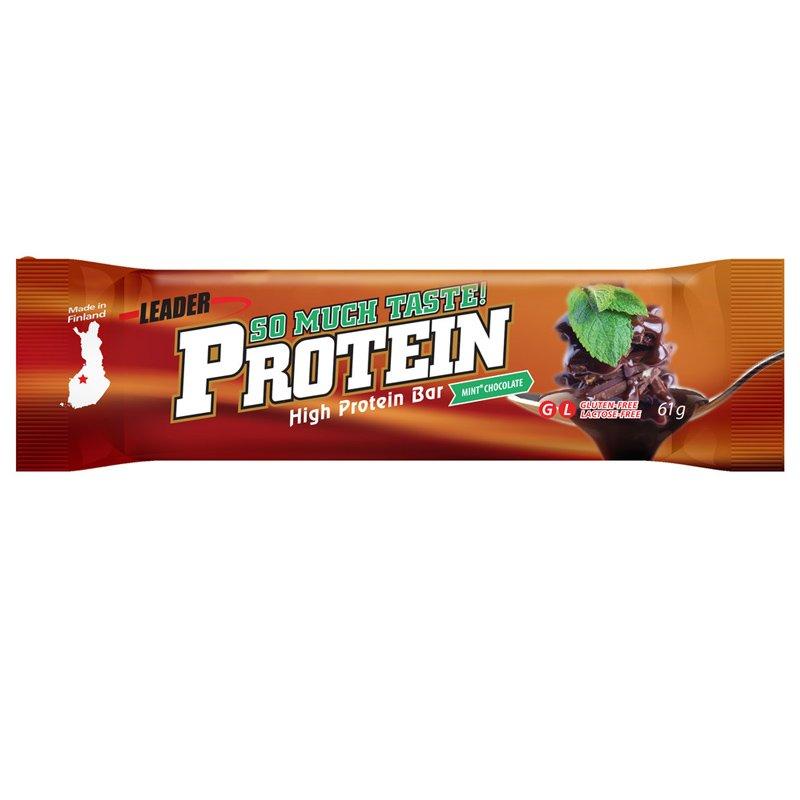 Proteiinipatukka Minttusuklaa 61 g - 75% alennus
