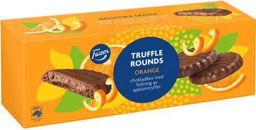Fazer Truffle Rounds Orange 142g