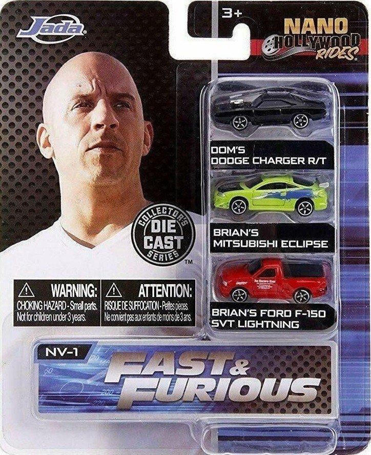 Jada - Fast & Furious - 3-Pack Cars (253201000)