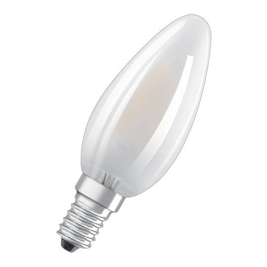 OSRAM-LED-kynttilälamppu E14 6,5W, 2700K, dim