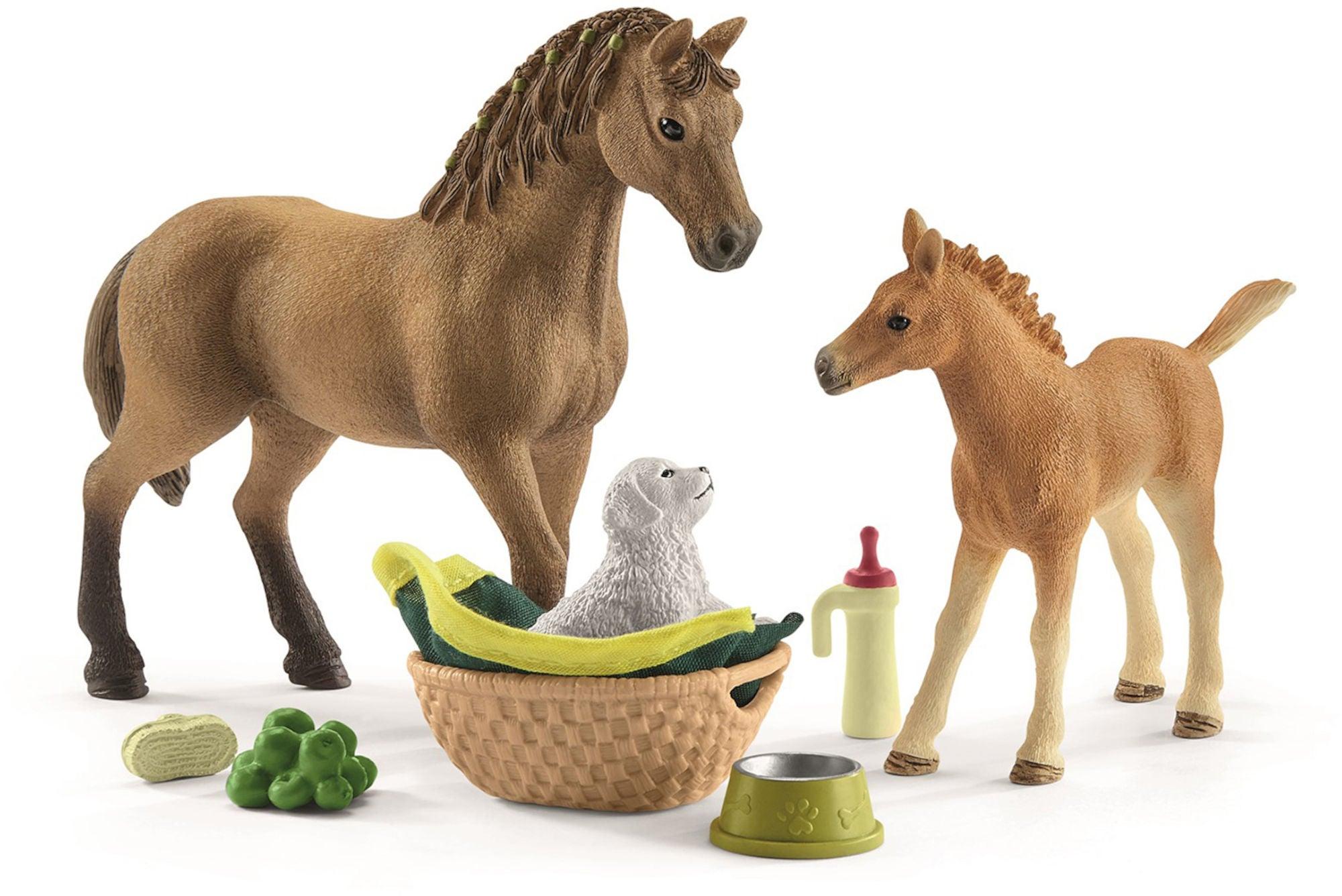 Schleich Horse Club Sarahin Eläinvauvahoitosarja