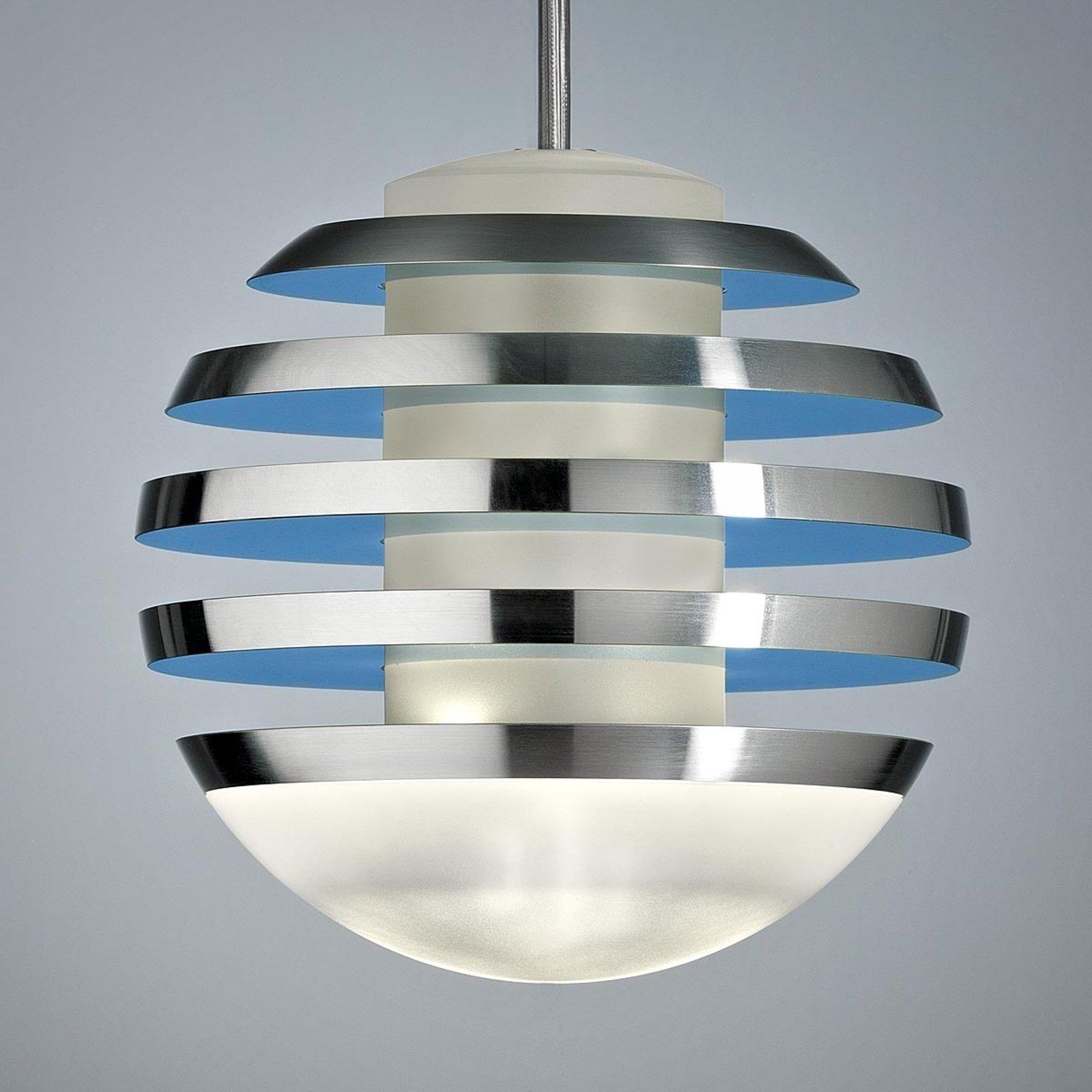 LED-hengelampe BULO lysblå