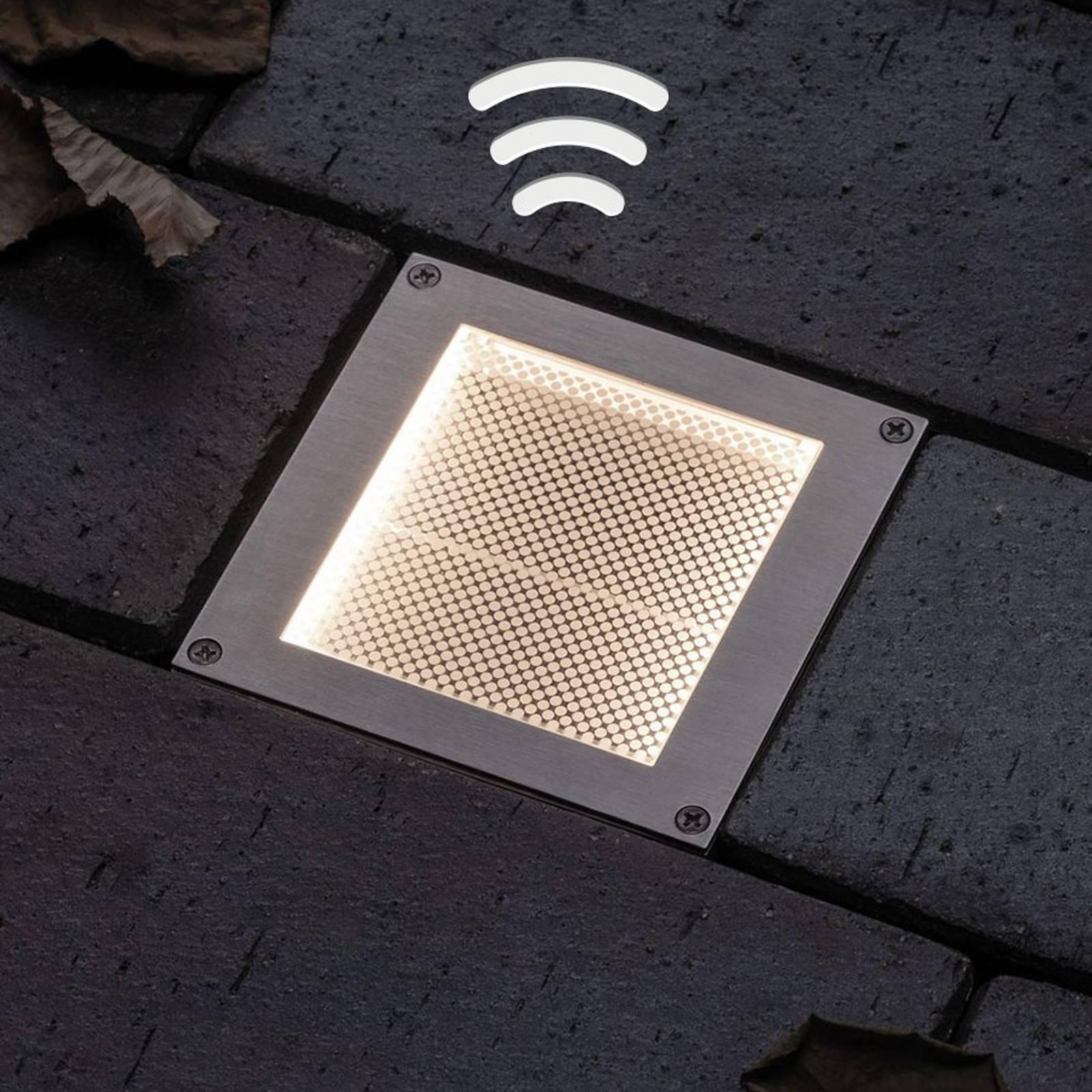 Paulmann aurinkokäyttöinen LED-spotti Aron 10x10cm