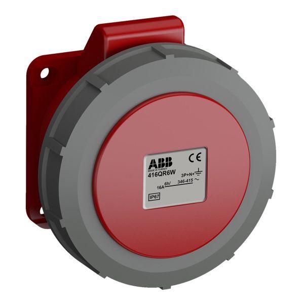 ABB 2CMA102338R1000 Paneluttak hurtigtilkoblet, vibrasjonsbestandig Rett, 5-polet, IP67