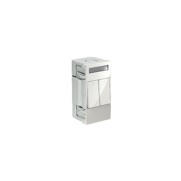 Schneider Electric INS66106 Kytkin 2 keinukytkintä valkoinen