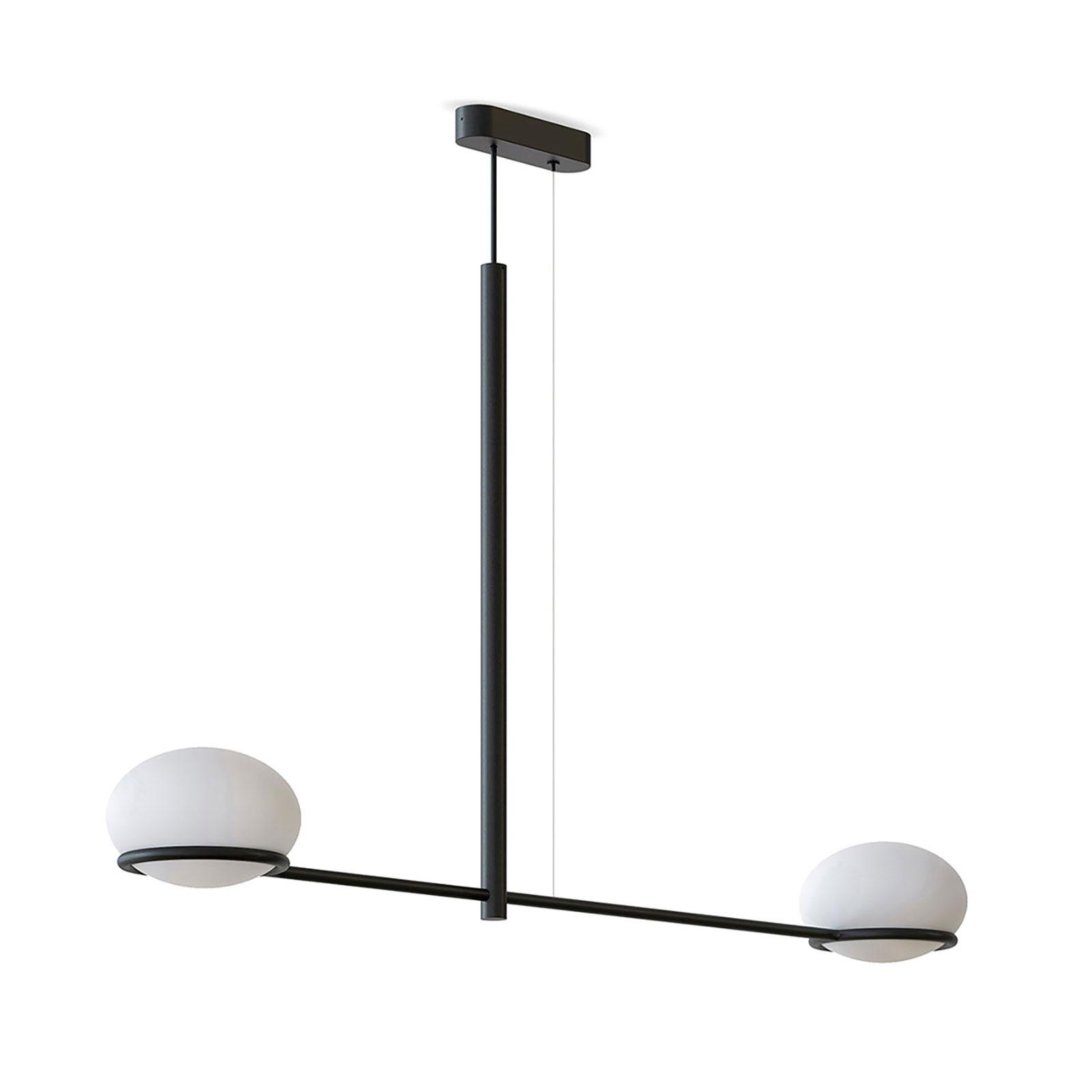 LEDS-C4 Coco Double -riippuvalo musta/valkoinen