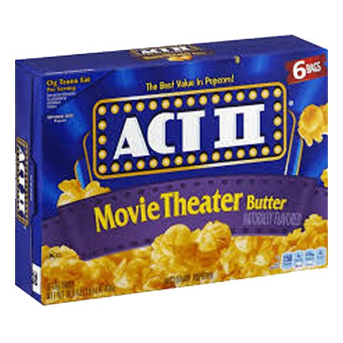 ACT II Movie Theater Butter Popcorn - 234 gram