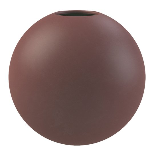 Cooee - Ball Vas 20 cm Plum