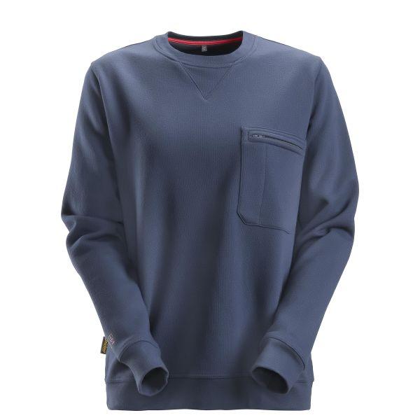 Snickers 2867 ProtecWork Sweatshirt marineblå XS