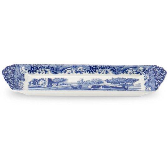 Spode Blue Italian Smörgåsbricka Melamin 38,5 x 16,5 cm