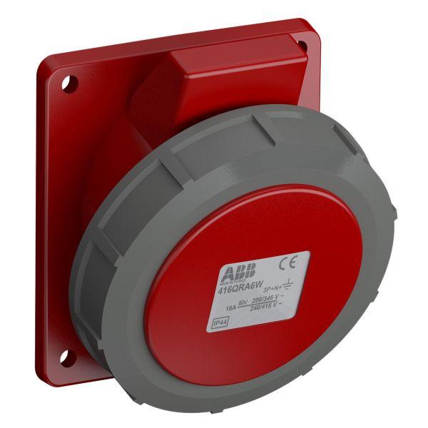 ABB 2CMA102339R1000 Paneluttak hurtigtilkoblet, vibrasjonsbestandig Vinklet, 5-polet, 16 A
