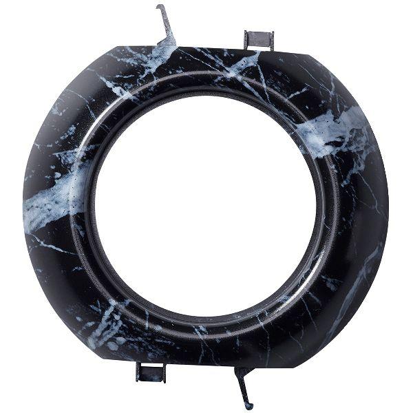 Schneider Electric Renova Mellomramme for innfelte Renova-apparater Svart marmor